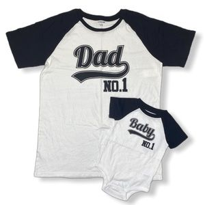 Other - Matching Dad and Baby Bundle Shirts